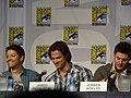 Misha Collins, Jared Padalecki & Jensen Ackles (4852400638).jpg