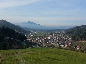 Mislinja (settlement) - Image: Mislinja panorama