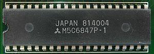 Motorola 6847 - Mitsubishi clone M5C6847