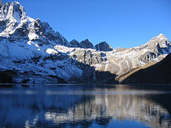 Sagarmatha nationalpark - Gokyo Lake i Sagarmatha nationalpark