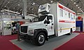 """Mobile medical and obstetric center from """"Splav"""" SPA during the """"Armiya 2021"""" exhibition.jpg"""