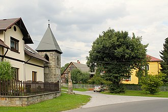 Modřišice - Center of the village