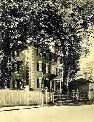 Moffatt-Ladd House - Image: Moffatt Ladd House postcard