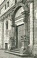 Mola di Bari porta della cattedrale xilografia di Barberis 1898.jpg