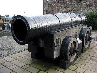 Supergun - Mons Meg, built in 1449 on the orders of Philip the Good