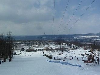 Montage Mountain Ski Resort - View from the mountain