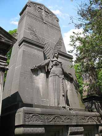 Louis-Léon Cugnot - Monument to Jacques Léon Clément-Thomas and Claude Lacombe, Père Lachaise Cemetery, Paris