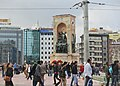 Monument of the Republic, Taksim Square, Istanbul.JPG