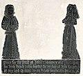 Monumental Brass to John Goodyear, d 1506, and Wife at St Mary's church, Teddington.jpg