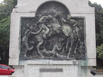 Battle of Ytororó - Death of Colonel Fernando Machado.