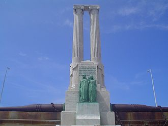 Monument to the Victims of the USS Maine (Havana) - The monument today