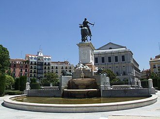 Monument to Philip IV of Spain - West side