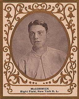 Moose McCormick American baseball player and coach