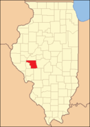 Morgan County Illinois 1845