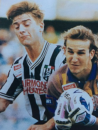 Adelaide City FC - Striker Damian Mori (left) remains Adelaide City's all-time top goalscorer and the most prolific marksman in Australian national competition.