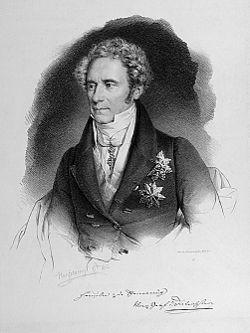 Moritz, Prince of Dietrichstein. Lithograph by Franz Hanfstaengl, 1832. (Source: Wikimedia)