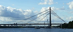 Bridges in Kiev - The Moskovskyi Bridge.