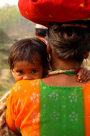 Possible Health - A Nepali mother and child.