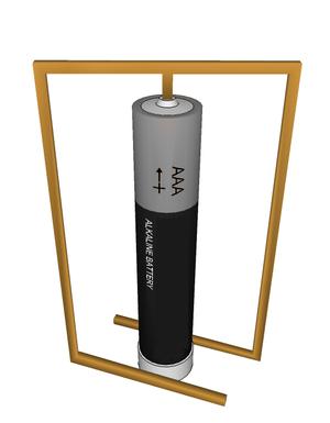 Homopolar motor - Image: Motor homopolar neutral
