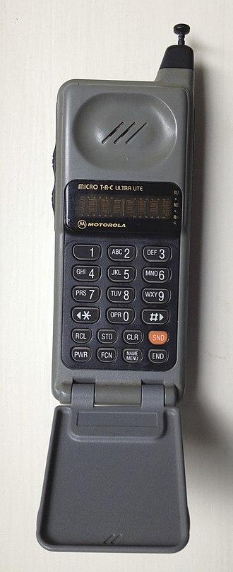 Motorola MicroTAC - MicroTAC Ultra Lite.