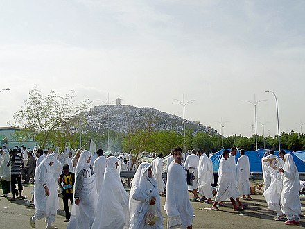 Mount Arafat during Hajj Mount Arafah.jpg