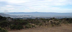 Mount Diablo from SF Bay Discovery Site 10-2-2011 4-24-09 PM.JPG