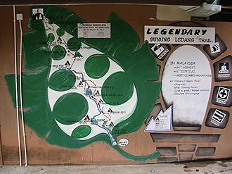 Mount Ophir - Image: Mount Ophir info