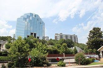 Vinings, Georgia - High rises on Mount Wilkinson