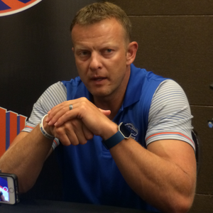 Bryan Harsin - Harsin at 2016 Mountain West Media Days