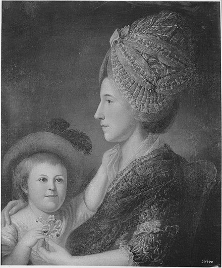 Anne McCall Willing and William Shippen Willing, by Charles Willson Peale Mrs. Thomas Willing (Ann McCall) and Her Son William Shippen Willing.jpg