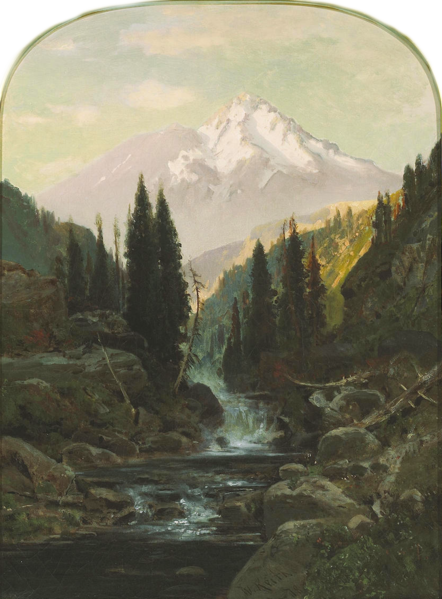 File:Mt Shasta by William Keith, 1878.png