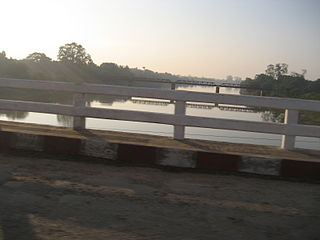 Mu River river in Myanmar