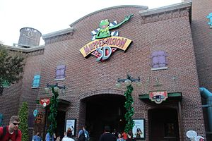 The Muppets - The Muppet*Vision 3D attraction has operated at Disney's Hollywood Studios since 1991.