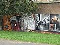 Mural, Kelvingrove Park. 1 - Subway - geograph.org.uk - 1516189.jpg