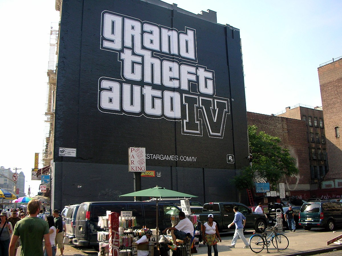 marketing for grand theft auto iv wikipedia. Black Bedroom Furniture Sets. Home Design Ideas