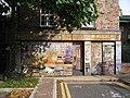Mural on back of shop in Market Street - geograph.org.uk - 254445.jpg