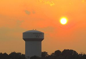 Rutherford County, Tennessee - Sunset in Murfreesboro