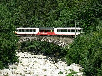 Murgbrücke bei Raumünzach