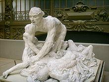 Auguste Rodin, il Conte Ugolino e i suoi figli, Musée d'Orsay, Parigi