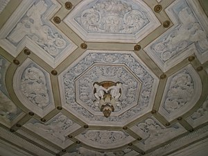 National Archaeological Museum of the Marche Region - Decorated plafond
