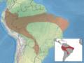 Myotis simus distribution.png