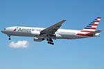 N767AJ Boeing 777 American (14622832308).jpg