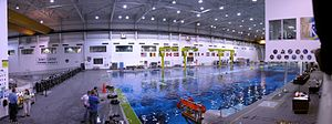 Neutral Buoyancy Laboratory - Panorama of the NBL in Houston, Texas
