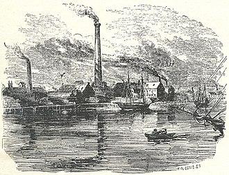 New England Glass Company - Image: NEGC exterior view