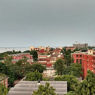 National Institute of Technology, Patna - Aerial view of NIT Patna