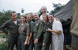 Military medicine - Norwegian NORMASH personnel during the Korean War
