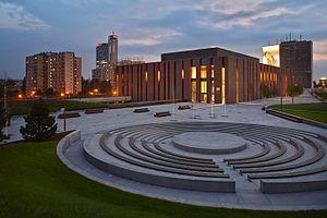 Polish National Radio Symphony Orchestra - NOSPR at dusk