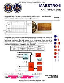 NSA MAESTRO-II