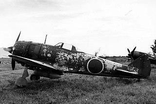 Nakajima Ki-44 1940 fighter aircraft family by Nakajima