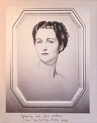 Deborah Cavendish, Duchess of Devonshire - Image: Nancy Mitford